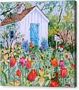 The Garden Shed Acrylic Print
