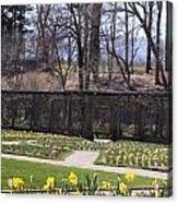 The Gardens At Biltmore Estate II Acrylic Print