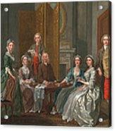 The Gascoigne Family, C.1740 Acrylic Print