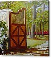 The Gate Acrylic Print