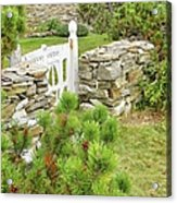 The Gate By The Sea Acrylic Print