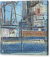 The Gate Acrylic Print by Donald Maier