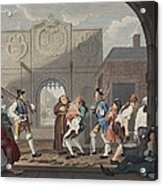 The Gate Of Calais, Or O The Roast Beef Acrylic Print
