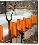 The Gates In Central Park Acrylic Print