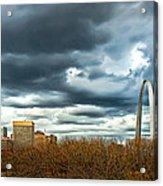 The Gateway Arch Downtown St. Louis Acrylic Print