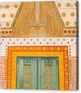 The Gateway Of Troy Acrylic Print