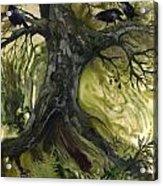 The Gathering Tree Acrylic Print