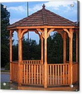 The Gazebo Acrylic Print