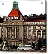 The Gellert Hotel Acrylic Print