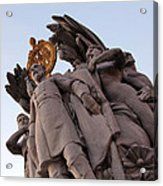 General George Meade Memorial -- The Front Acrylic Print