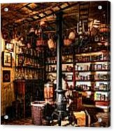 The General Store In My Basement Acrylic Print
