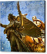 The Generals Golden  Angel Acrylic Print