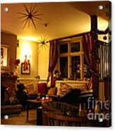 The George Inn Middle Wallop Acrylic Print
