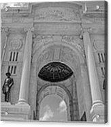 The Gettysburg Pennsylvania State Memorial  3 Acrylic Print