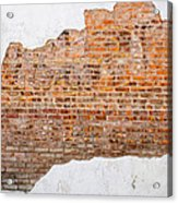 The Ghost Behind The Wall Acrylic Print