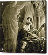 The Ghost Of Julius Caesar, In The Play Acrylic Print