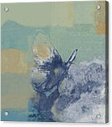 The Giant Butterfly And The Moon - J216094206-c09a Acrylic Print by Variance Collections