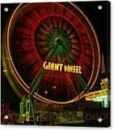 The Giant Wheel Spinning  Acrylic Print