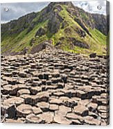 The Giant's Causeway In Northern Ireland Acrylic Print
