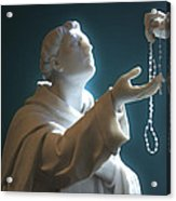 The Gift Of A Rosary Acrylic Print