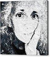 The Gingerbread Girl Acrylic Print