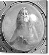 The Girl In The Bubble Acrylic Print