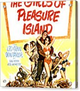 The Girls Of Pleasure Island, Us Acrylic Print