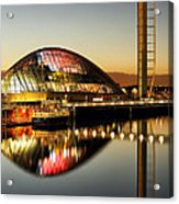 The Glasgow Science Centre Acrylic Print