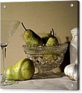 The Glass Is Empty Acrylic Print