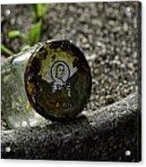 The Glass Jar From The Tsunami Acrylic Print