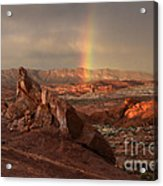 The Glory Of Sandstone Acrylic Print