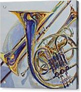 The Glow Of Brass Acrylic Print by Jenny Armitage