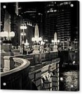 The Glow Over The River Acrylic Print
