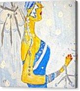 The Goddess Of Winter Acrylic Print