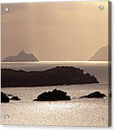 The Gold Skelligs Acrylic Print