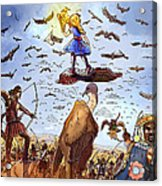 The Golden Bird Acrylic Print