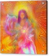 The Golden Deva Acrylic Print