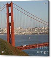 The Golden Gate Acrylic Print
