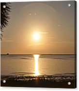 The Golden Gulf Coast Acrylic Print