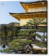 The Golden Temple Of Kyoto Japan Acrylic Print
