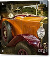 The Golden Twenties Acrylic Print