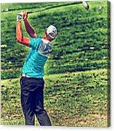 The Golf Swing Acrylic Print