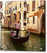 The Gondolier Acrylic Print