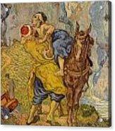 The Good Samaritan - After Delacroix Acrylic Print