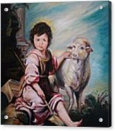 The Good Shepherd Acrylic Print