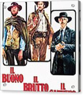 The Good, The Bad And The Ugly, Clint Acrylic Print