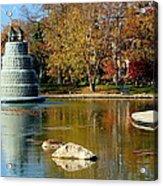 The Goodale Park  Fountain Acrylic Print