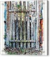The Goose Gate Acrylic Print