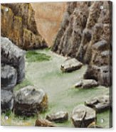 The Gorge Acrylic Print