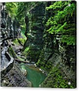 The Gorge Trail Acrylic Print